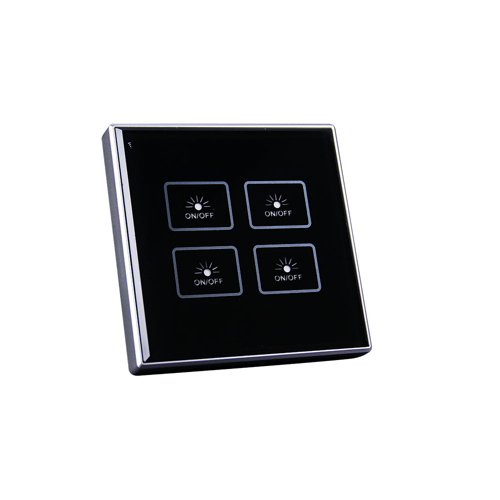 4 gang light smart switch kincony smart home system. Black Bedroom Furniture Sets. Home Design Ideas