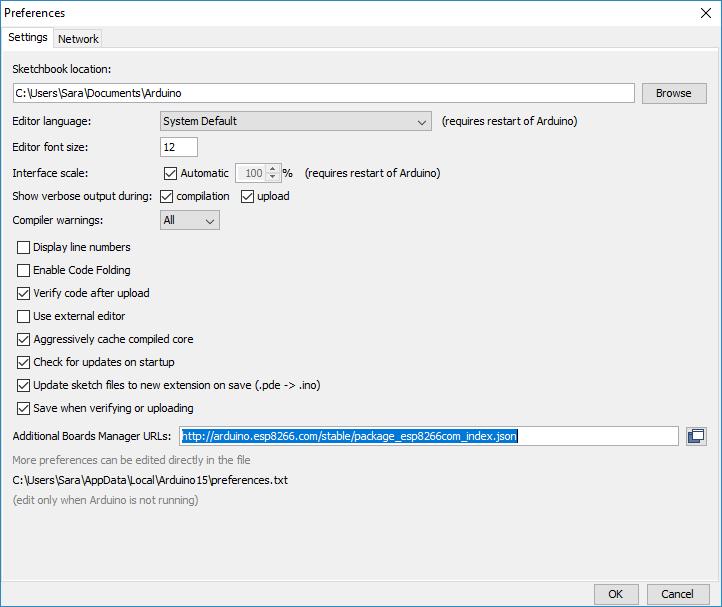 esp8266-arduino-preferences