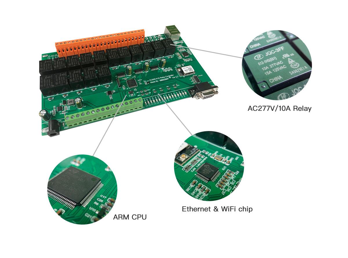 kc868-h16b ethernet wifi relay