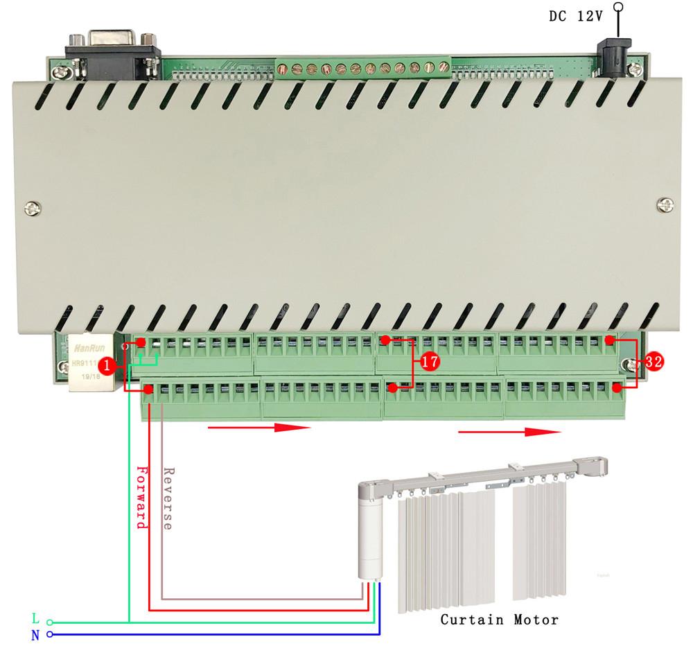 32 relay motor