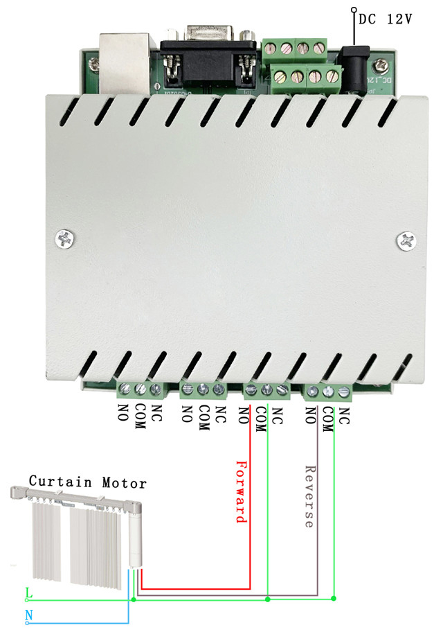 4 relay motor