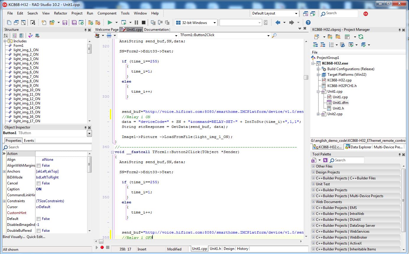 c++ relay