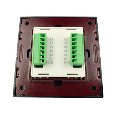 push button switch panel