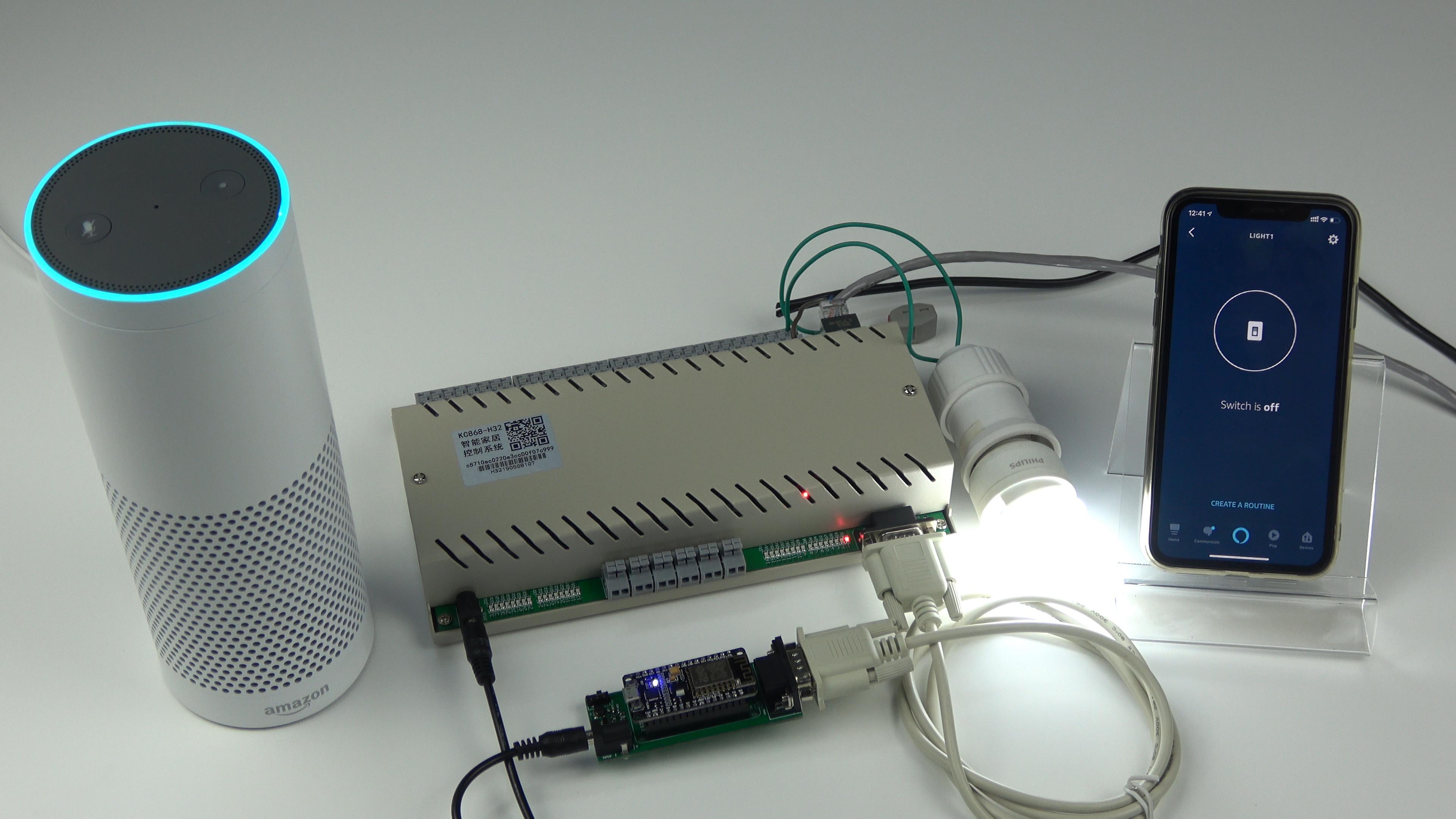 voice control 32 relays